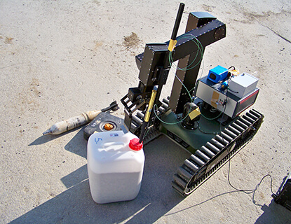 ion mobility spectrometry explosives detection
